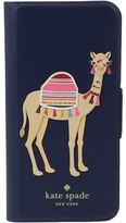 Kate Spade Camel Applique Phone Case for iPhone 7 Cell Phone Case