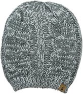 BearPaw Women's Marled Cable Knit Hat