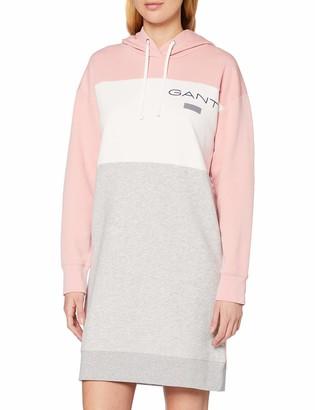 Gant Women's D1 Stripe Hoodie Dress