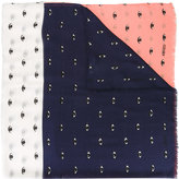 Kenzo Eyes scarf - women - Silk/Modal - One Size