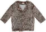 Anne Kurris Leopard Printed Faux Fur Jacket