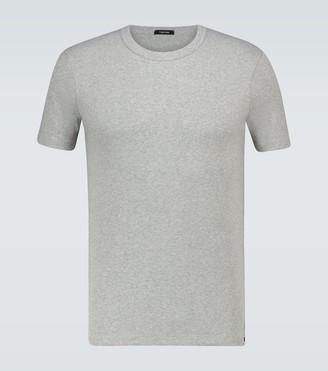 Tom Ford Cotton crewneck T-shirt