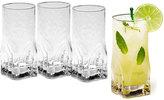 Mikasa Quartz Set of 4 Highball Glasses