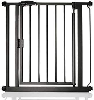 Safetots Auto Close Baby Gate Matt Black Range (75cm - 82cm)