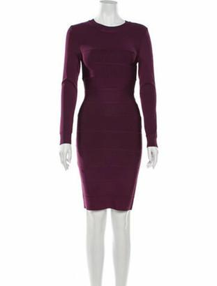 Herve Leger 2019 Mini Dress