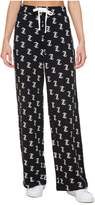 Juicy Couture Jc Logo Print Terry Pant