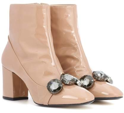 N°21 Tino 100 patent leather ankle boots