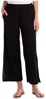 Fresh Produce Avila Capri Pants (Black) Women's Casual Pants