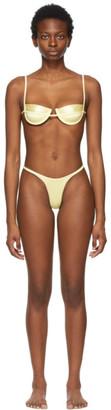 Isa Boulder Yellow Continuous and Forward Bikini