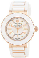 Swarovski Women&s New Octea Silicone Strap Watch