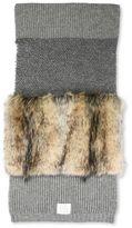 Stella McCartney fur free fur scarf