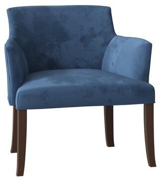 Madrid Barrel Chair Duralee Furniture Body Fabric: Addison Cadet