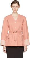 Isabel Marant Pink Denim Estil Jacket
