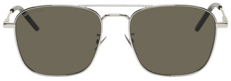 Saint Laurent Silver SL 309 Sunglasses