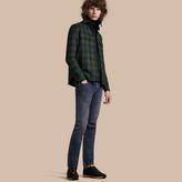 Burberry Tartan Wool Wadded Shirt