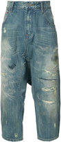 Mostly Heard Rarely Seen cropped jeans - men - Cotton - 32