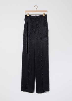 Ann Demeulemeester Lambeth Belted Straight Trousers