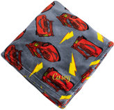 Disney Lightning McQueen Fleece Throw - Personalizable