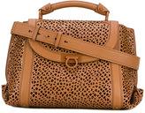 Salvatore Ferragamo medium laser-cut 'Suzanna' tote - women - Calf Leather - One Size