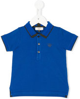 Armani Junior contrast trim polo shirt