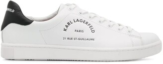 Karl Lagerfeld Paris Rue St Guillaume low-top sneakers