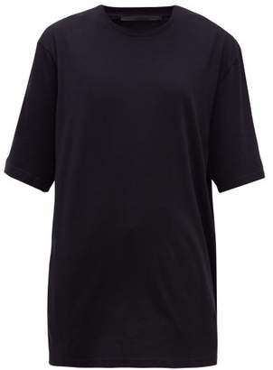 Haider Ackermann Oversized Cotton-jersey T-shirt - Womens - Black