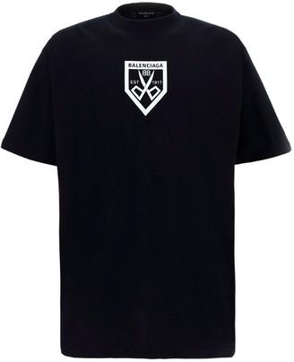 Balenciaga Logo Oversized T-Shirt