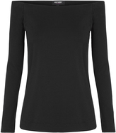 Oxford Caren Off Shoulder T-Shirt Blk X