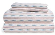 Lauren Ralph Lauren Lucie Ikat Stripe Queen Sheet Set Bedding