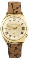 Bulova Accutron 14K Yellow Gold Vintage 35mm Mens Watch