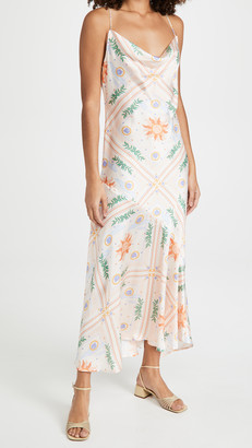 NEVER FULLY DRESSED Peach Sunshine Mya Dress