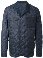 Etro floral print padded jacket