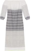 Lemlem Almaz striped off-the-shoulder dress