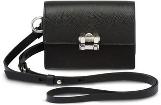 Prada Small Saffiano leather card holder