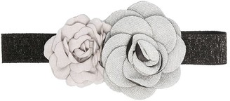 Caffe' D'orzo TEEN roses-detail hair band