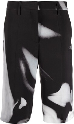 Off-White Liquid Melt tailored shorts
