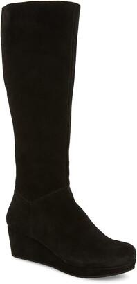 Chocolat Blu Yiga Knee High Wedge Boot