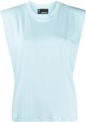 Styland Padded Shoulder Organic Cotton Tank Top