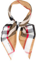 Burberry House Check Woven Scarf