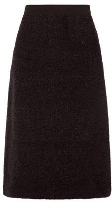 Sara Lanzi A-line Tinsel Skirt - Black