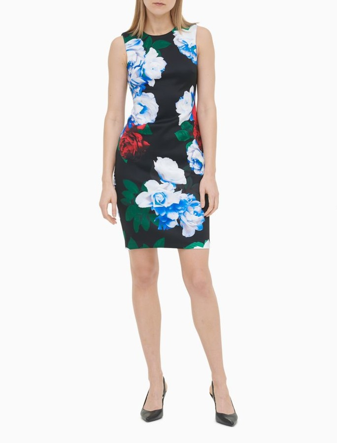 5f96cda6 Calvin Klein Scuba Dresses - ShopStyle