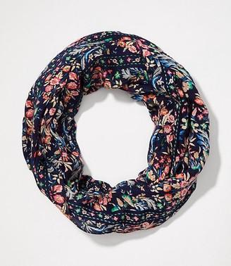 LOFT Floral Trellis Infinity Scarf