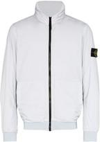 Stone Island reflective hooded jacket