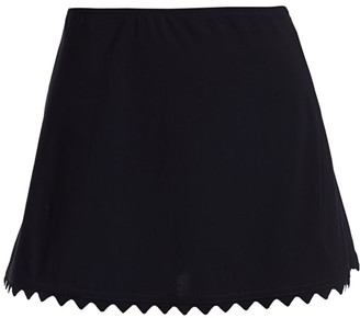Karla Colletto Swim Ines A-Line Skirt