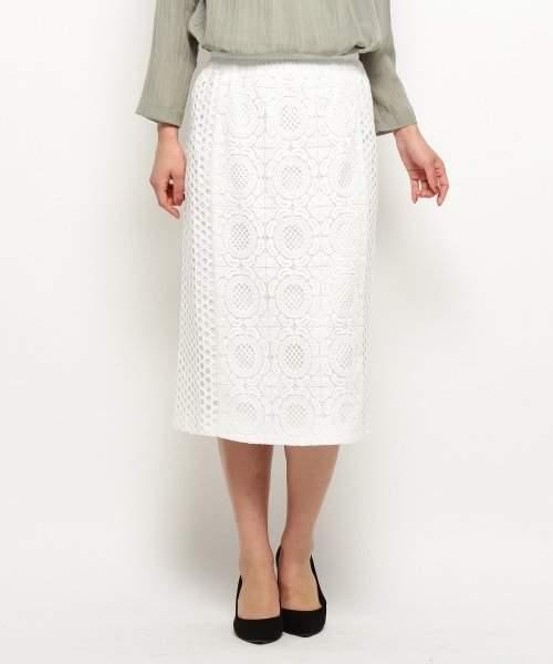 modify (モディファイ) - モディファイ ミモレレーススカート