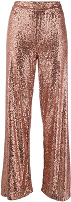 L'Autre Chose Sequin Embellished Trousers