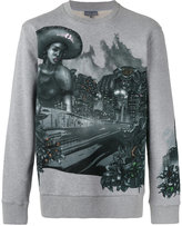 Lanvin Lonely Town sweatshirt - men - Cotton - S