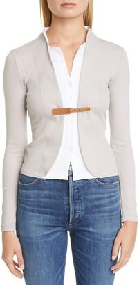 Fabiana Filippi Layered Jersey Blazer