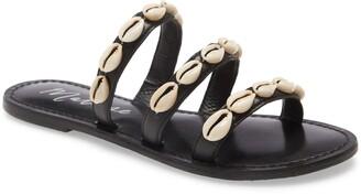 Matisse Resort Cowrie Shell Slide Sandal