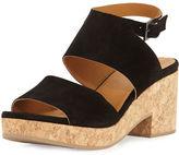 Coclico Match Low-Heel Cork Sandal